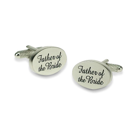 Father Of The Bride Elegant Cufflinks
