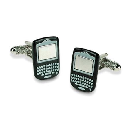 Black Blackberry Cufflinks