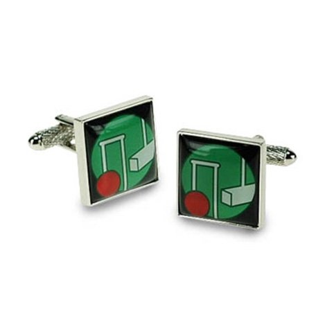 Square Croquet Cufflinks