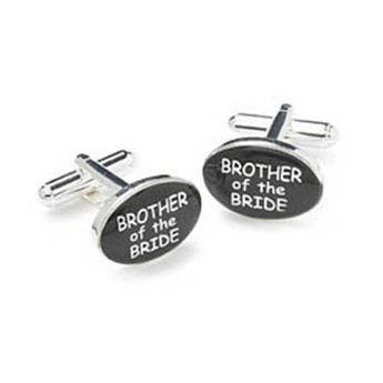 Wedding Brother Of The Bride Cufflinks