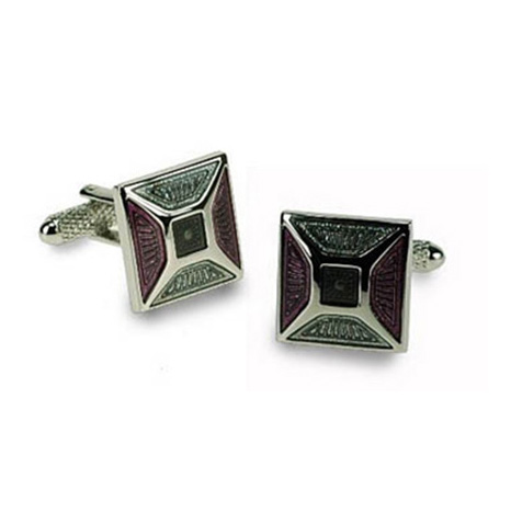 Purple Multi Cufflinks