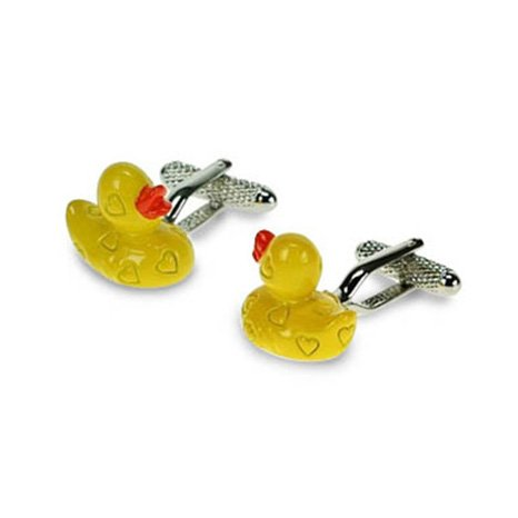Rubber Duck Shaped Cufflinks