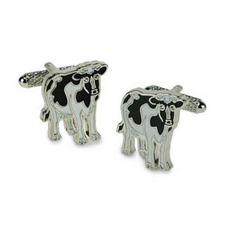 Cow Shaped Cufflinks