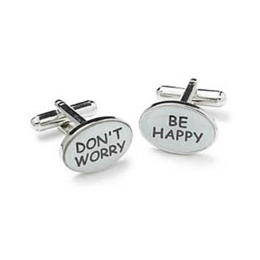 Don't Worry Cufflinks