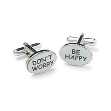Don't Worry Cufflinks