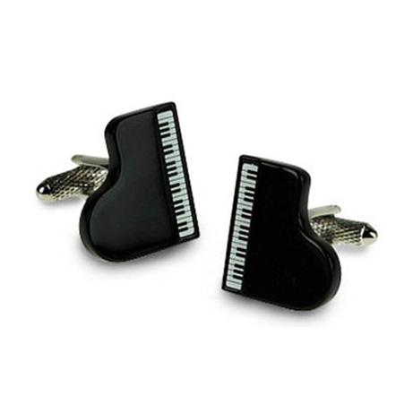 Grand Black Piano Cufflinks