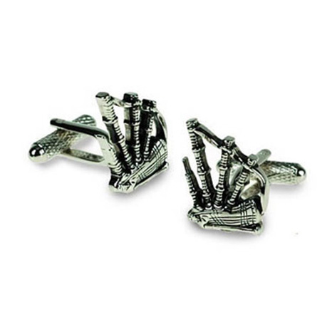 Bagpipes Cufflinks