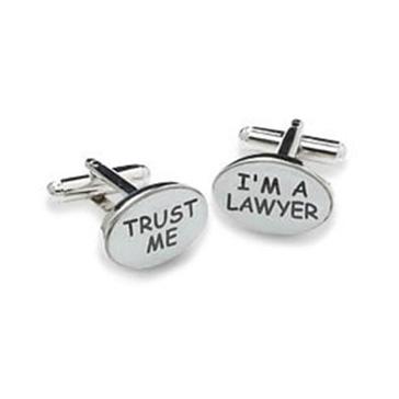 I'm A Lawyer Cufflinks