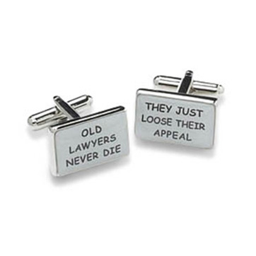 Old Lawyers Cufflinks