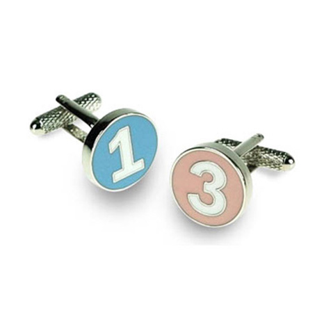 Polo Numbers Cufflinks