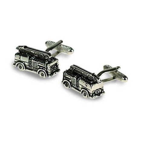 Fire Engine Shaped Cufflinks