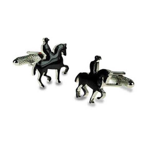 Horse And Rider Cufflinks