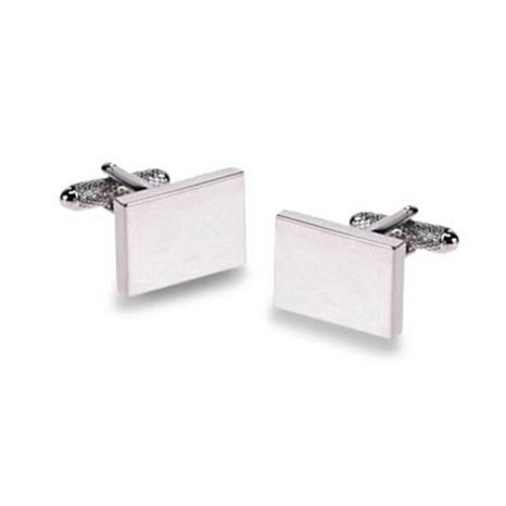 Plain Rectangle Cufflinks