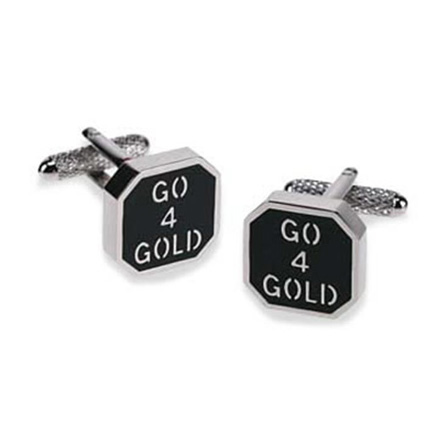 Go 4 Gold Cufflinks