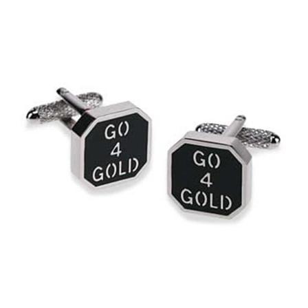 Go 4 Gold Cufflinks