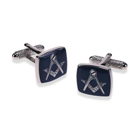 Masonic Blue Cufflinks