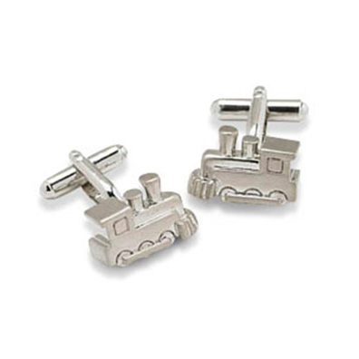 Train Shaped Cufflinks