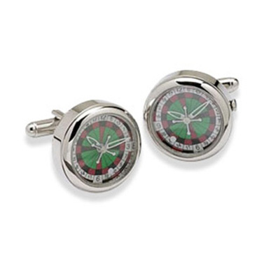 Roulette Wheel Watch Cufflinks