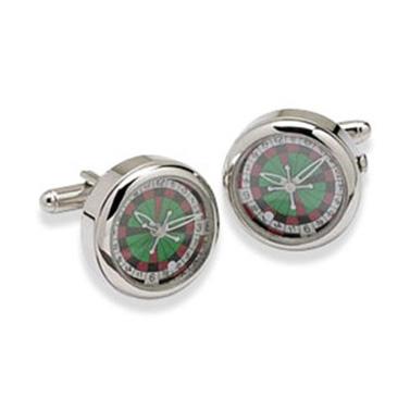 Roulette Wheel Watch Cufflinks