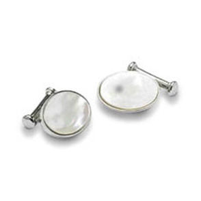 Oval Mop Cufflinks