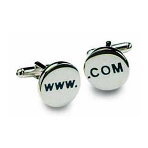 WWW Com Cufflinks
