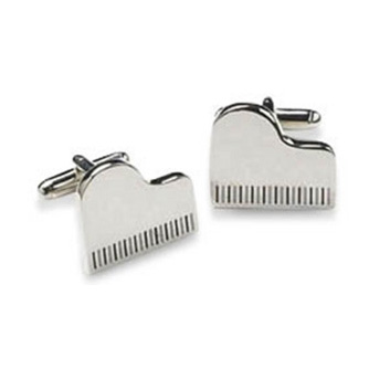 Grand Piano Shaped Cufflinks
