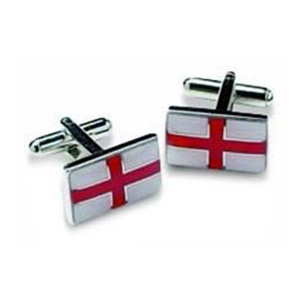 St Georges Cross Style Cufflinks