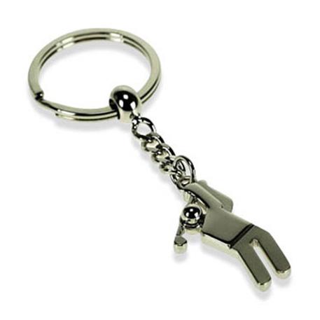 Golfer Key Ring