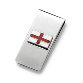 English Flag Money Clip