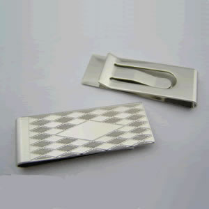 Diamond Money Clip