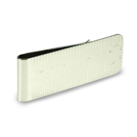 Ruler Money Clip