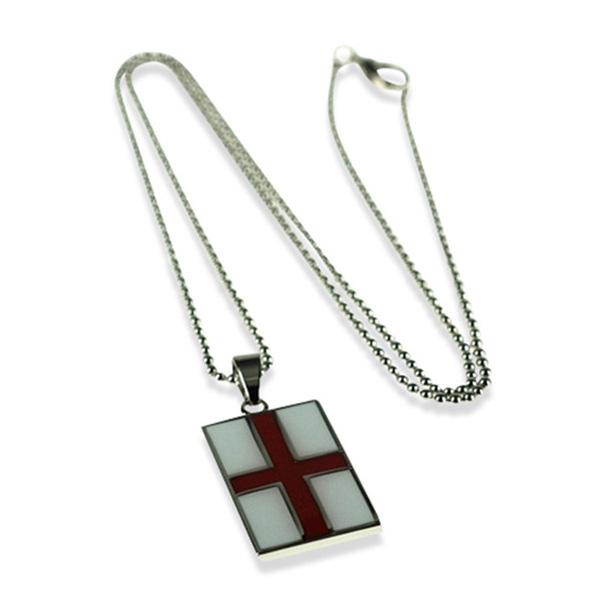 St Georges Cross Pendant