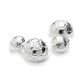 Soccer Ball Chain Cufflinks