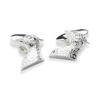 Birds Head Chain Cufflinks