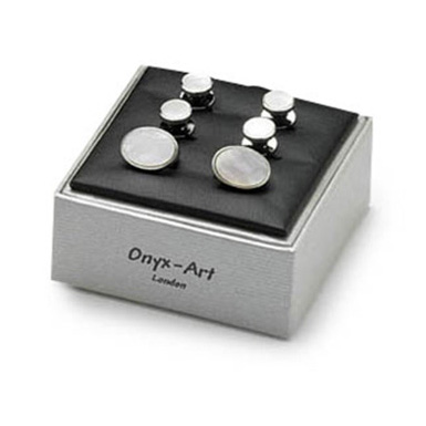 Oval Mop Dress Studs Box Set