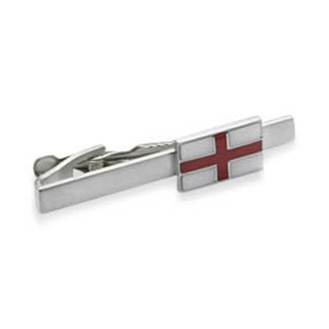 Simple English Flag Tie Bar