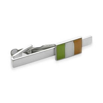Irish Ireland Flag Tie Bar