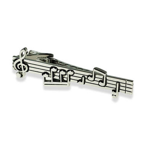 Musical Note Score Tie Bar