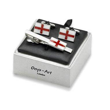 Rectangular English Flag Box Set
