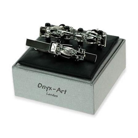 Silver Racing Car Gift Box Set