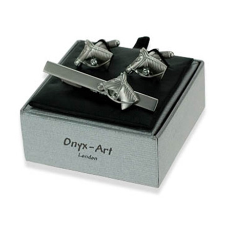 Silver Horse Gift Box Set