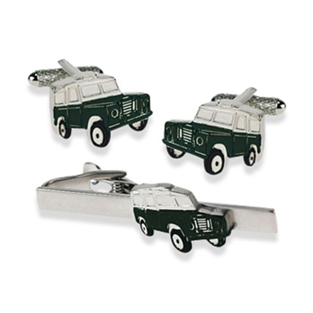 Jeep Green Tie Bar Set