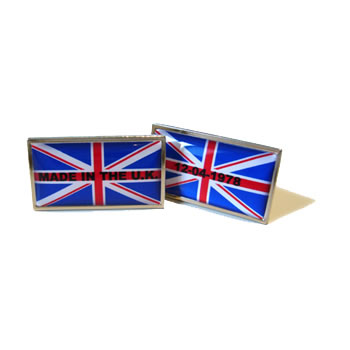 Made In The UK Flag Cufflinks