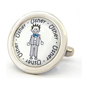 Usher Character Cufflinks