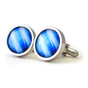 They Came To Take Us Vision Round Cufflinks