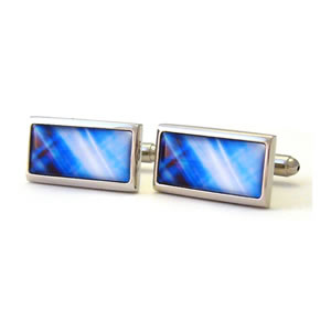 They Came To Take Us Vision Rectangle Cufflinks