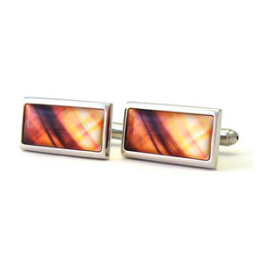 They Came To Take Us Illusion Rectangle Cufflinks