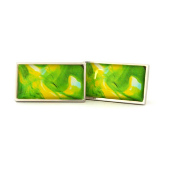 Citrus Dream Rectangle Cufflinks