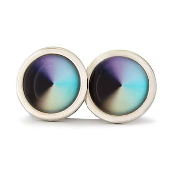 Conical Dream Round Cufflinks