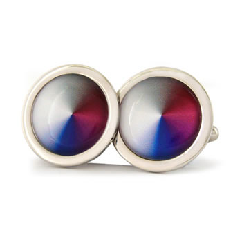 Conical Dream Alter Ego Round Cufflinks